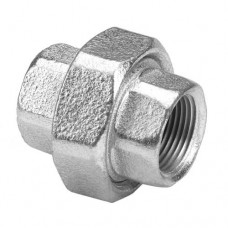 UNION DOBLE CONICA GALVANIZADA 1.1/4""