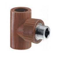 "TEE CENTRAL HIDRO 3 FR METALICA 3/4"" FRM"